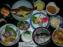 【夕食例】魚会席(学生プラン)