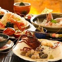 【料理】夕食一例(伊勢えび付)