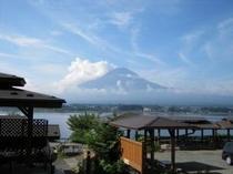戸沢センターからの夏の富士山