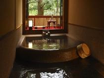 特別室 山の朝 露天風呂