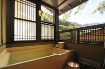 筍 檜露天風呂