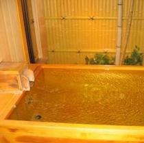 檜の貸切風呂