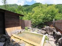 露天風呂 無色の「わさび沢温泉」