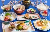 夕食一例(会席料理・春)
