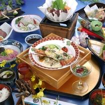 華コース(お食事例)