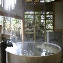 夢月:客室露天風呂