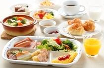 【朝食バイキング】洋食