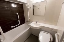デザイナーズダブルのバスルーム