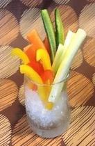 新鮮野菜の野菜スティック