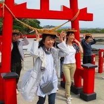 有名人も多く訪れるパワースポット、釜蓋(かまふた)神社ヽ(^o^)丿