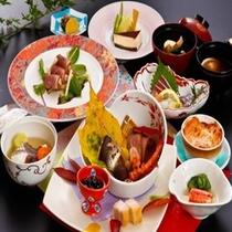 秋冬の稲佐会席料理