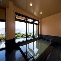 露天風呂【満天の湯】 内湯