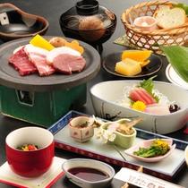 伊豆の海の幸・天城の山の幸を楽しめる郷土会席コース料理