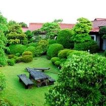 ◆中庭◆手入れの行き届いた庭