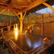 【日本一の巨木風呂2】