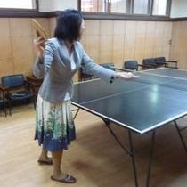 ◆卓球台◆プレーはお客様譲りあいでお願いします。
