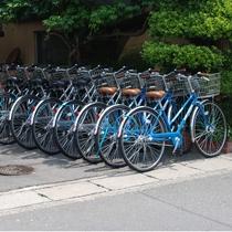 レンタル自転車(一日500円)