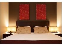 アパートメント ベッドルーム ベットタイプは、キングもしくはツインからお選びいただけます。