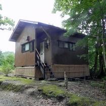 *【貸別荘:かわせみ】本館より100mほど離れた場所に建つ、「フローリング(10畳)」の貸別荘。