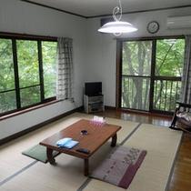 *【貸別荘:かわせみ】山小屋風の別荘を、1棟まるまる貸切りでご利用いただけます。