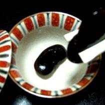 草津特産。ふっくら甘い『花豆煮』(イメージ)