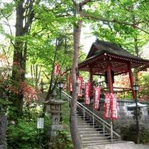 裏のお寺さん