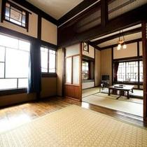 母屋客室Aタイプ【8畳和室+板間のゆったりサイズ】