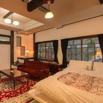はなれ客室Cタイプ:スイート   浪漫閣月の花/洋室