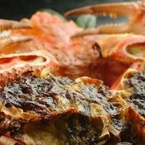 【焼き物】蟹の蟹味噌焼き
