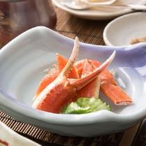 蟹も少々ご賞味ください