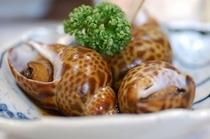 バイの煮付け(氷見尽くし膳の1品)季節や仕入れによりお料理が変わります