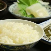 丹精込めて作ったお米です