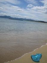 キラキラの浜詰ビーチ