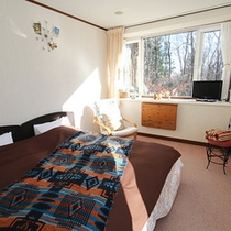 ■洋室UB付き ベッドはツインorキングから選択可能