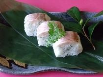 のどぐろの押し寿司