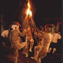春を呼ぶ火祭り修正鬼会
