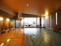 露天風呂付大浴場「ゆらく」