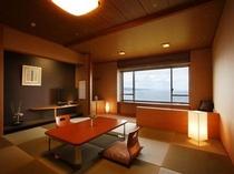 最上階「天の庭」 和室の雰囲気
