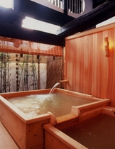 露天檜風呂