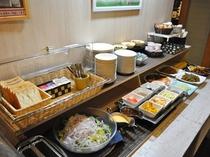 【朝食コーナー】