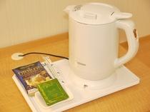 ポット&コーヒー&緑茶