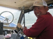 漁船で釣り体験♪03