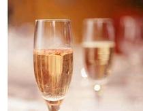 今夜はシャンパンで乾杯♪