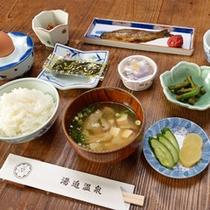 *【ご朝食一例】旅館定番の和朝食で、元気の源づくり!