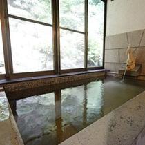 *【女湯】無色透明で神経痛などに効果あり!天然温泉100パーセントです。