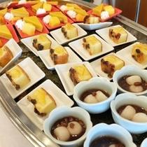 朝食バイキング甘味画像