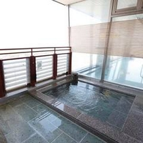 大浴場山彦の露天風呂