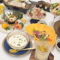 *【夕食一例】
