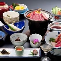 別館「宝泉」の夕食イメージ