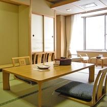 利根川を望む客室
